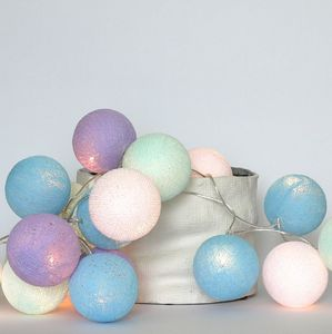 Cotton Ball Lights - Baby lavender
