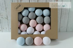 PASTEL CANDY COTTON BALLS
