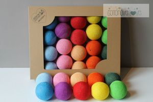 COTTON BALLS MULTI COLOR